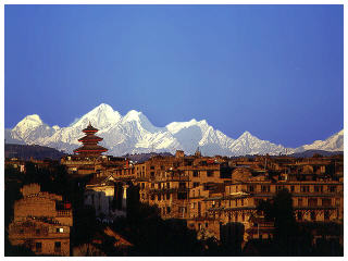 A view of Kathmandu, nepal travel