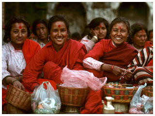 Nepali smiles, kathmandu travel